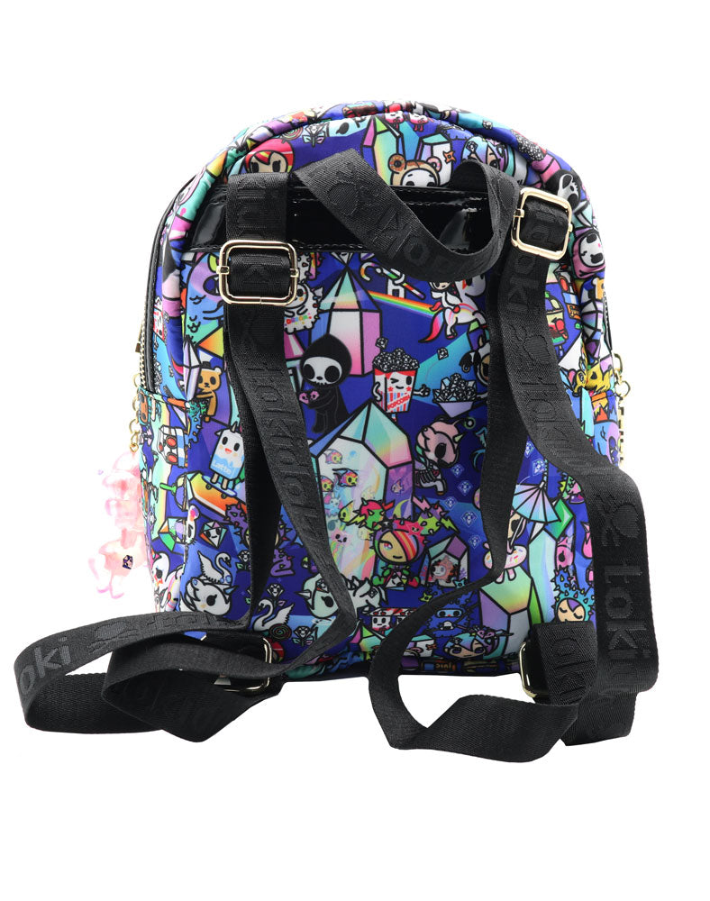 Crystal Kingdom Mini Backpack Back
