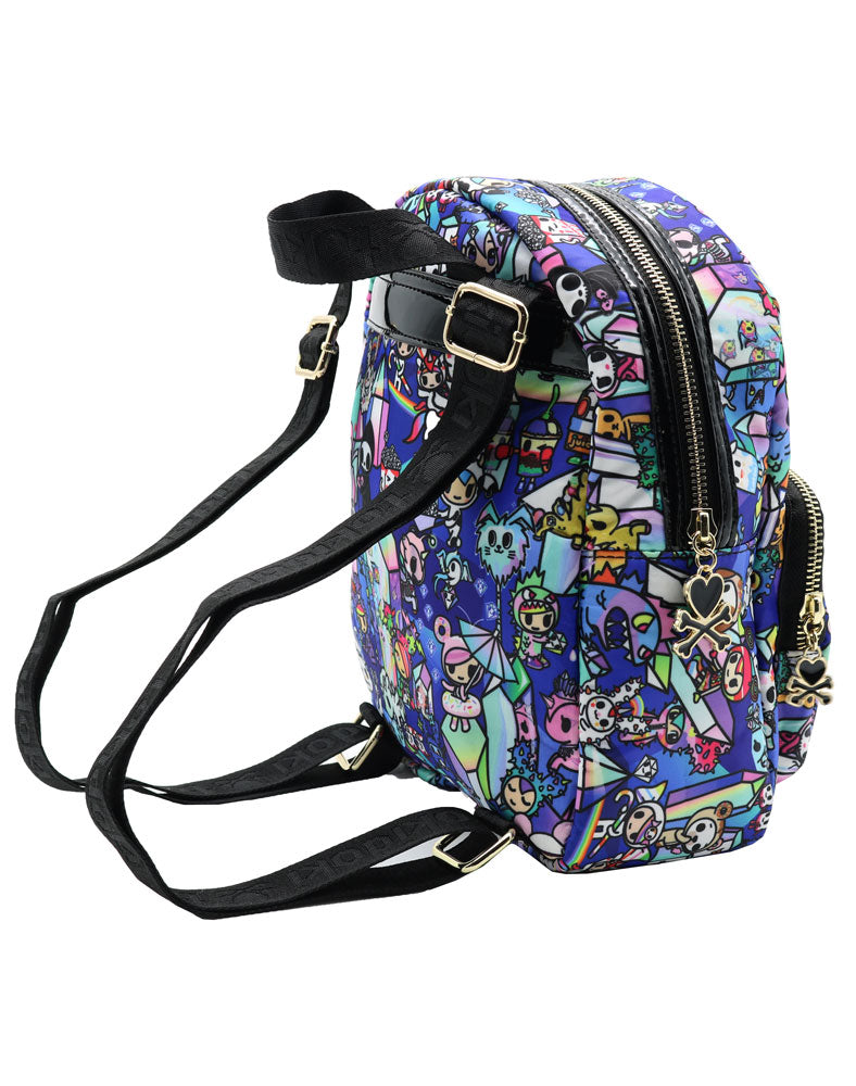 Crystal Kingdom Mini Backpack Side View
