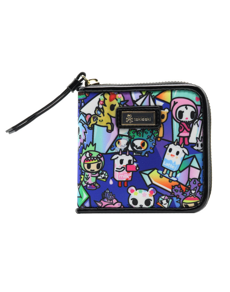 Crystal Kingdom Small Zip Around Wallet
