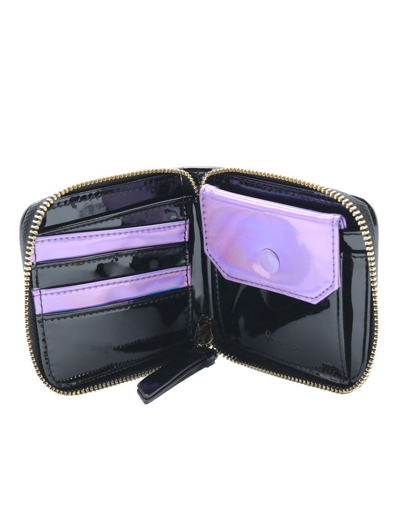 Crystal Kingdom Small Zip Around Wallet Inside View