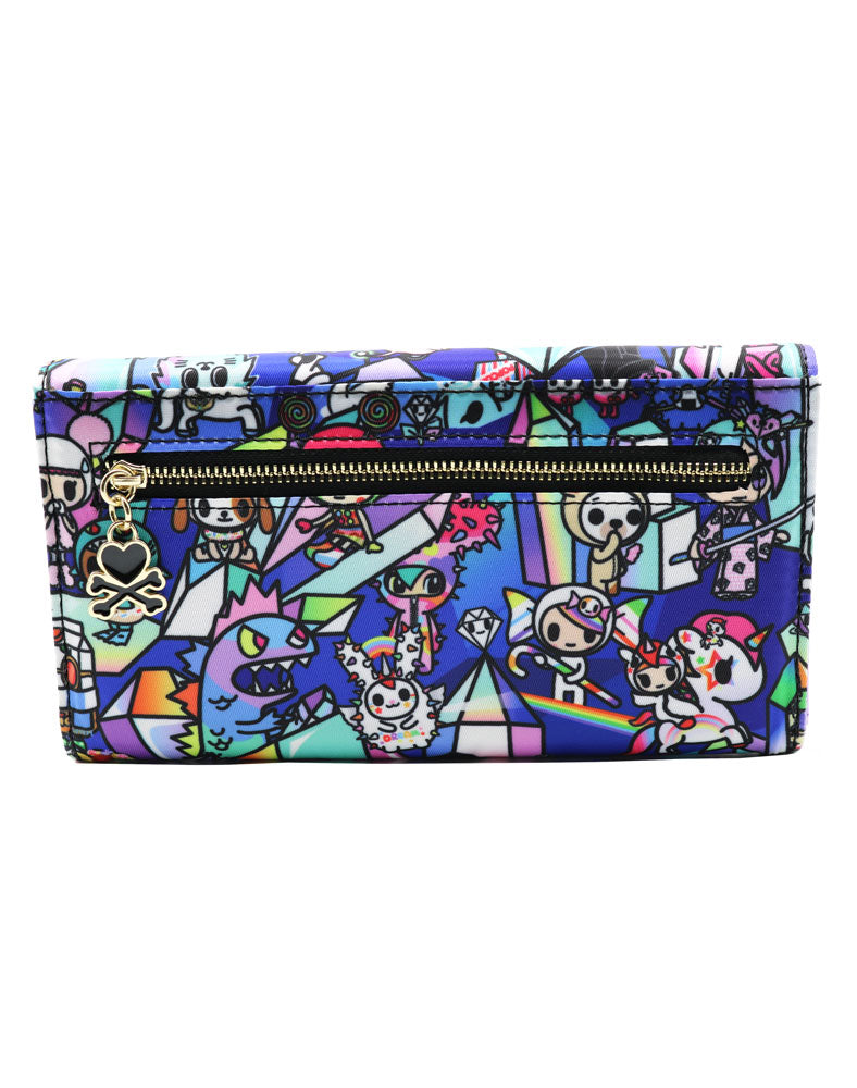 Crystal Kingdom Long Wallet Back