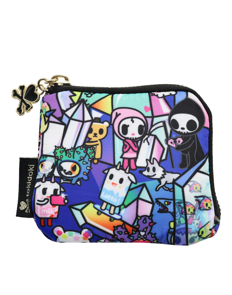 Crystal Kingdom Zip Coin Purse