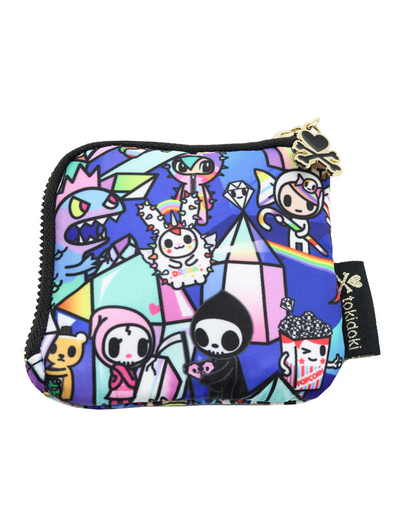 Crystal Kingdom Zip Coin Purse Back