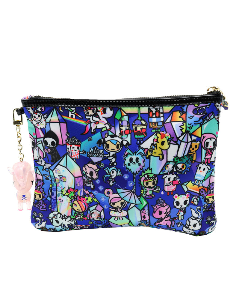 Crystal Kingdom Zip Pouch Back
