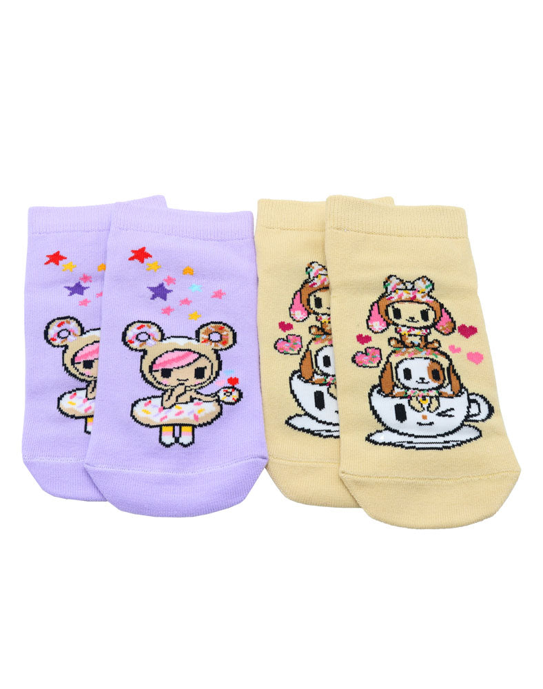 Donutella & her Sweet Friends Sock Set