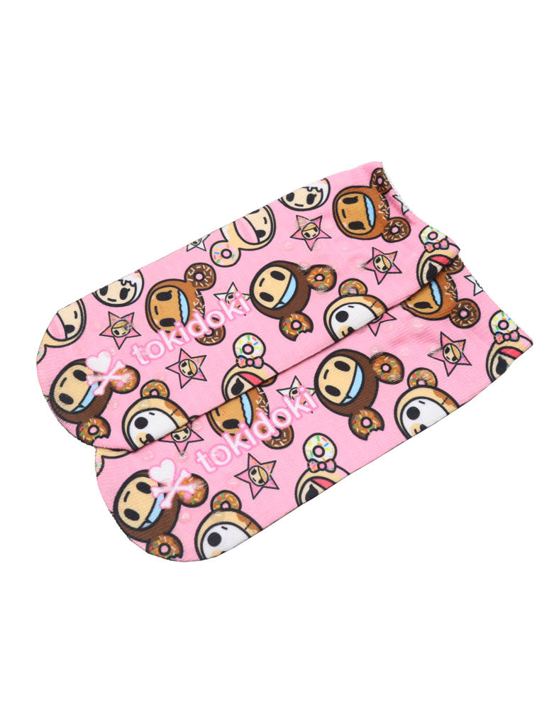 Donutella & her Sweet Friends Sublimated Socks (Kids) Sole