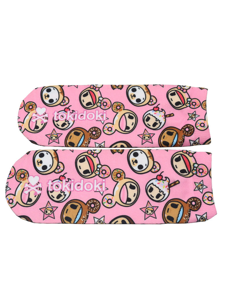Donutella & her Sweet Friends Sublimated Socks (Adult) Sole