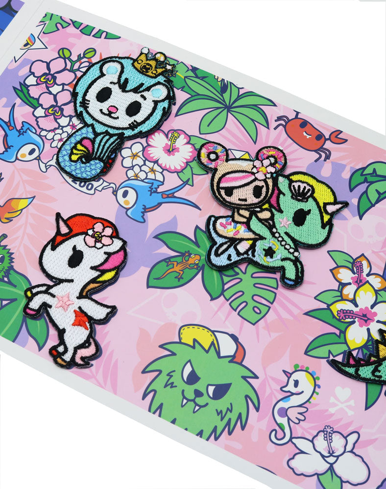 tokidoki Patch Set Folio2