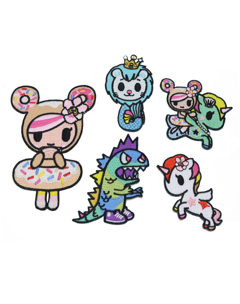 tokidoki Patch Set
