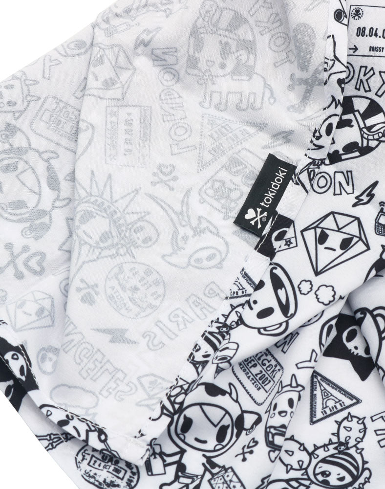 tokidoki Monochrome Travel Scarf Side 2