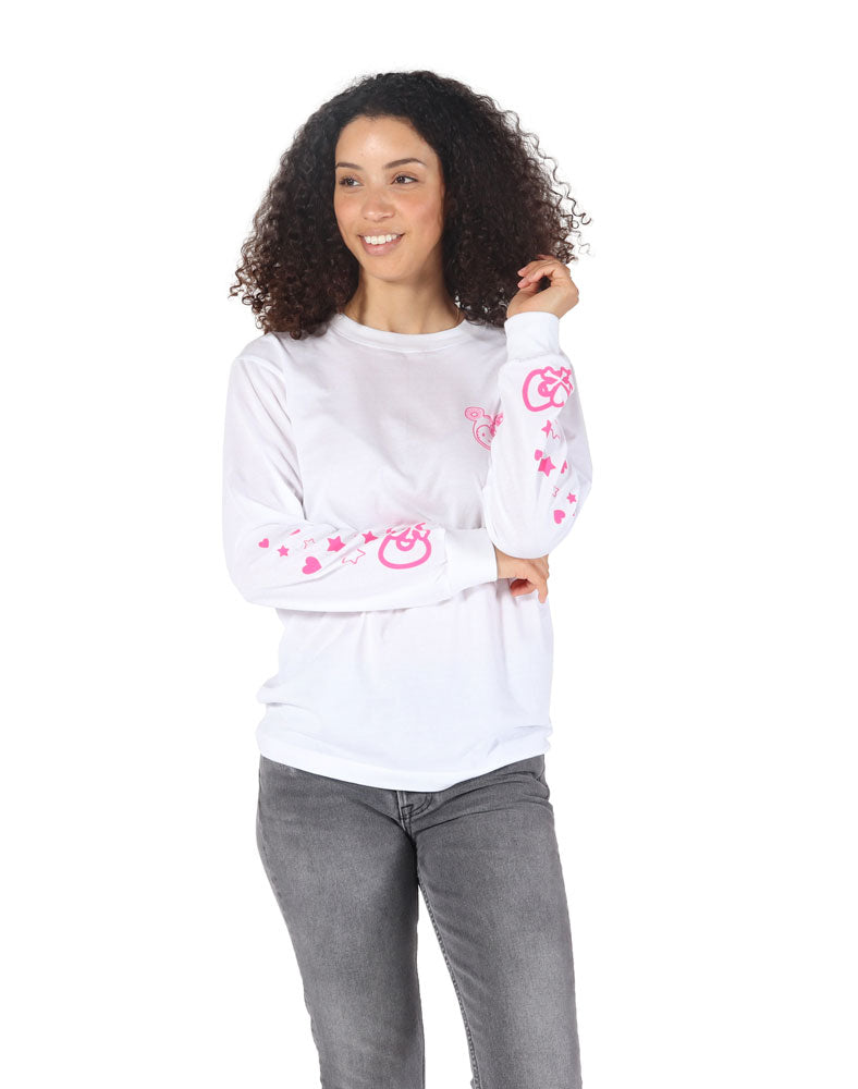 tokidoki x Hello Kitty Hello Cherry Long Sleeve Tee (Unisex) WM Front