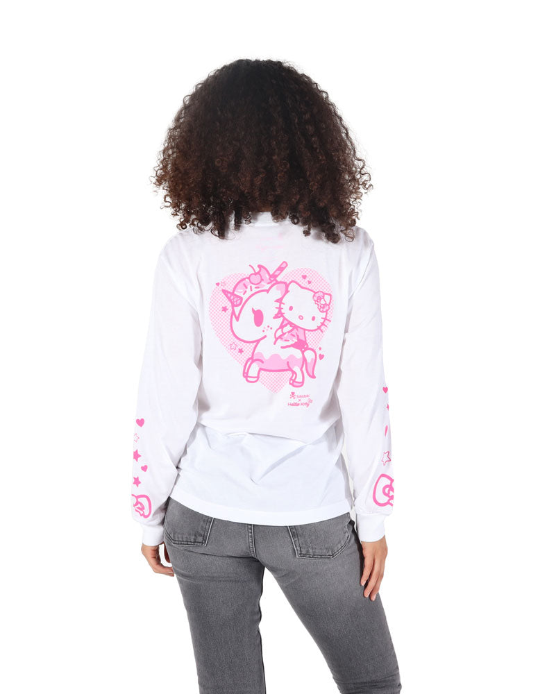 tokidoki x Hello Kitty Hello Cherry Long Sleeve Tee (Unisex) WM Back