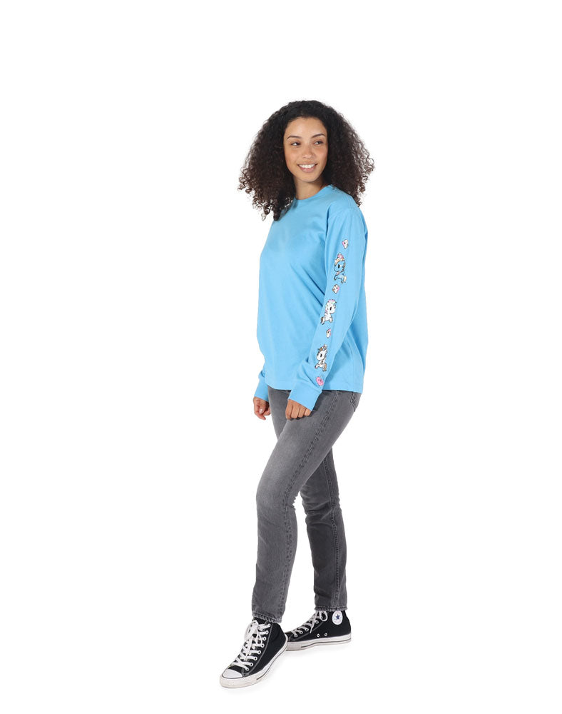 Pearly Pony Long Sleeve Tee (Unisex) WM Side
