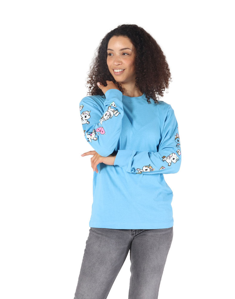 Pearly Pony Long Sleeve Tee (Unisex) WM Front