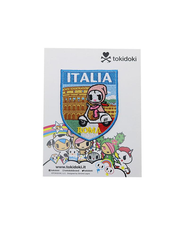 Travel Italia Iron-on Patch Packaging