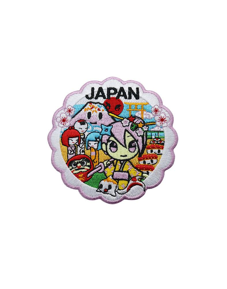 Travel Japan Iron-on Patch
