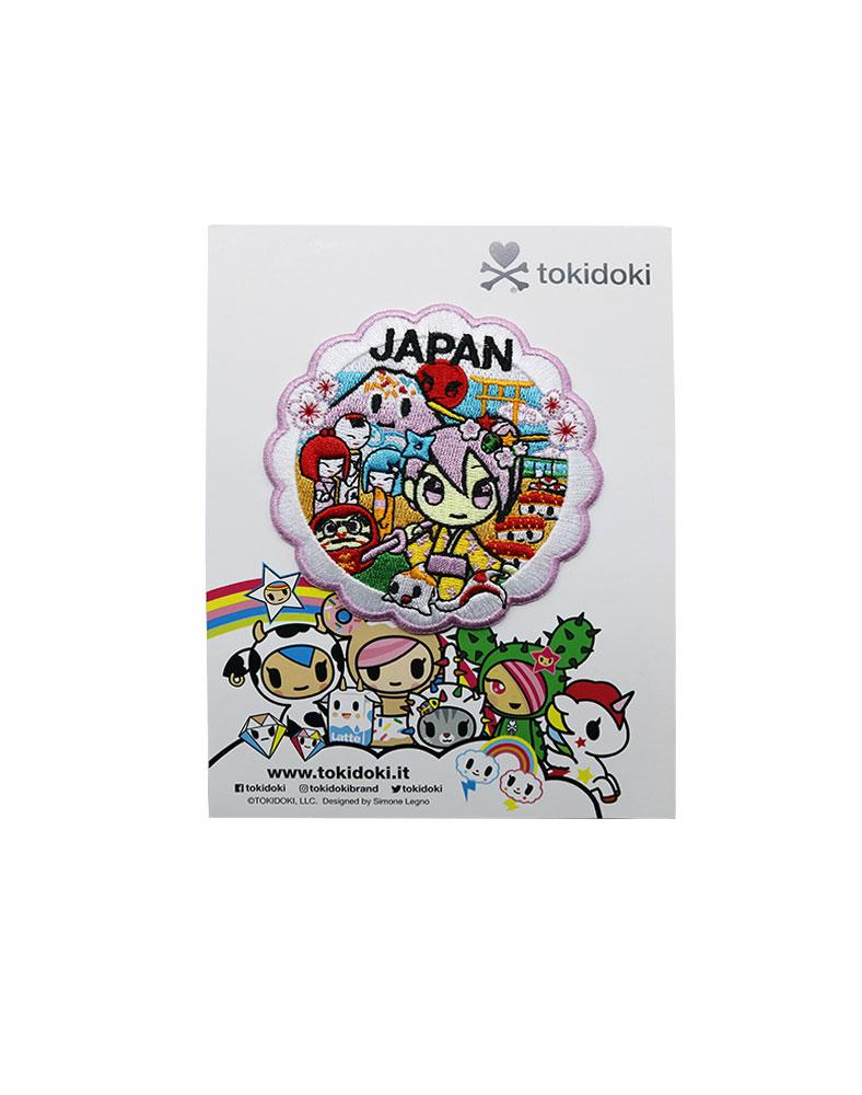 Travel Japan Iron-on Patch Packaging