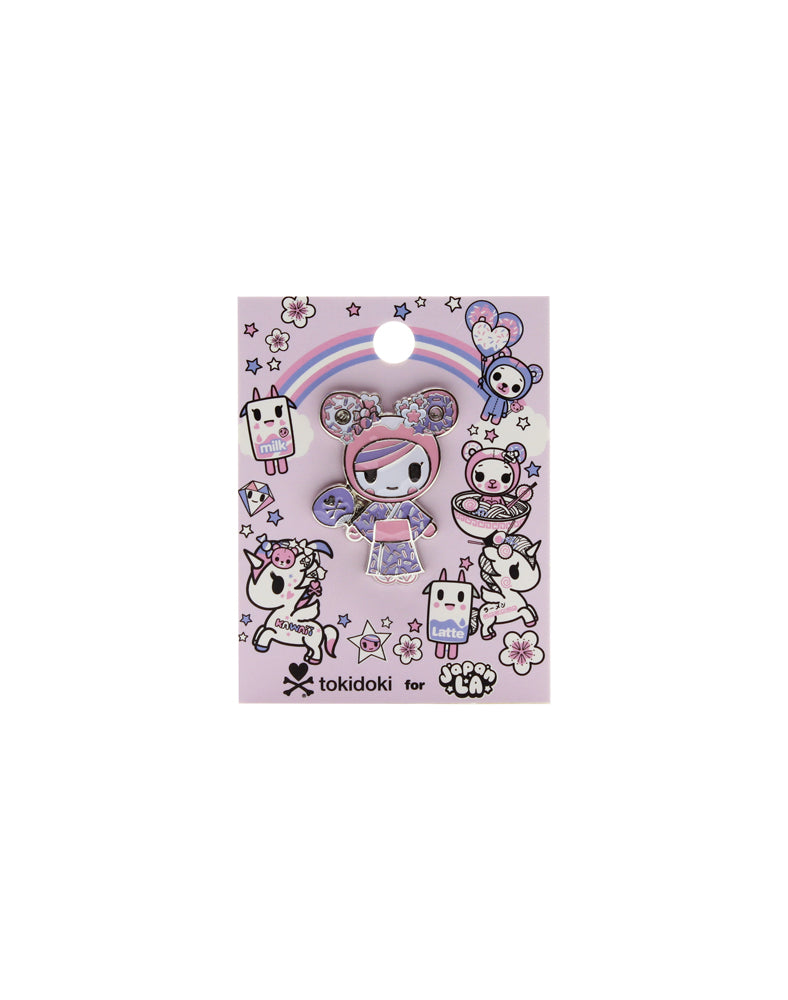tokidoki for JapanLA Enamel Pin Packaging