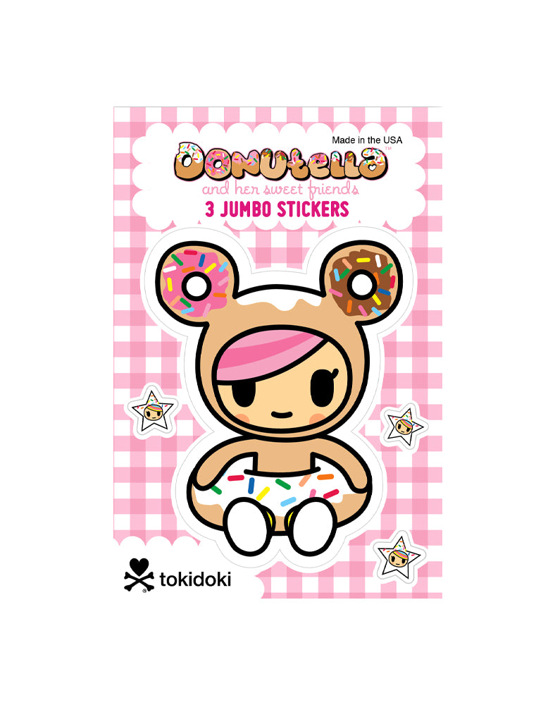 Donutella Jumbo Sticker Set