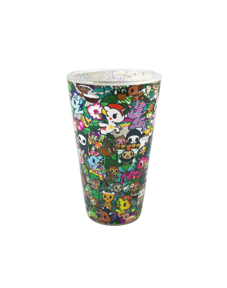 tokidoki Rainforest Pint Glass