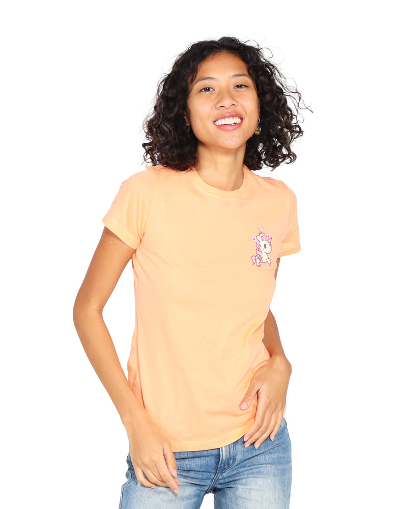 Just Peachy Tee Front