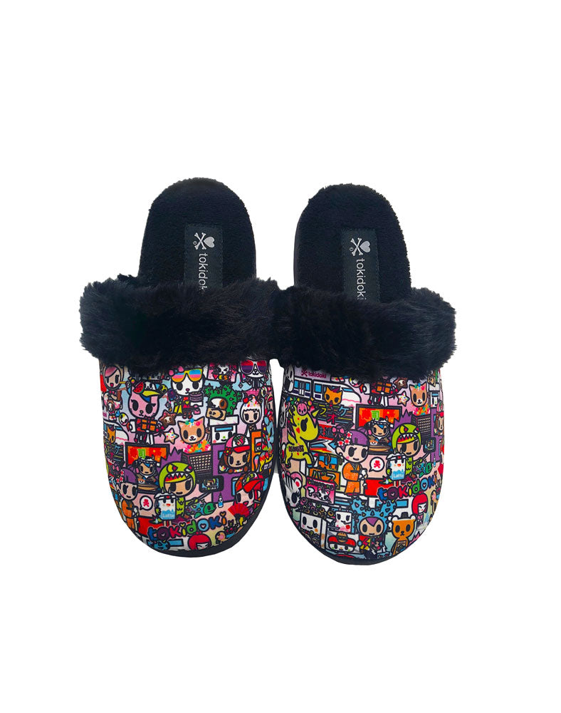 Kawaii Metropolis Women's Soft Slippers