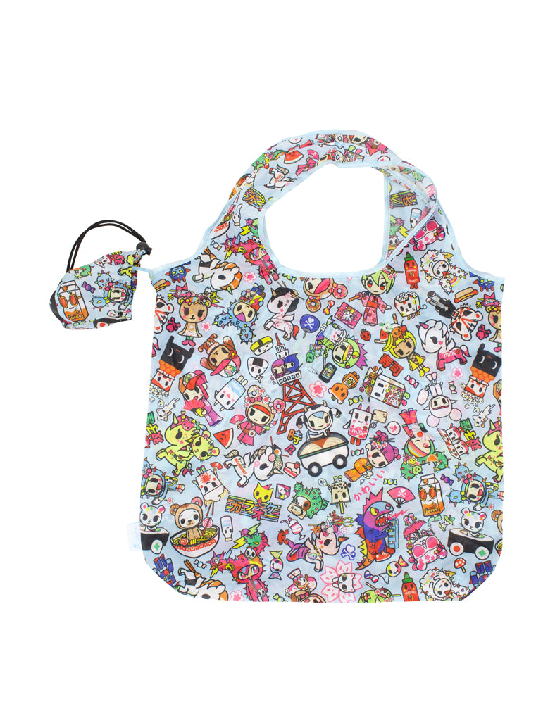 Kawaii Metropolis Reusable Tote