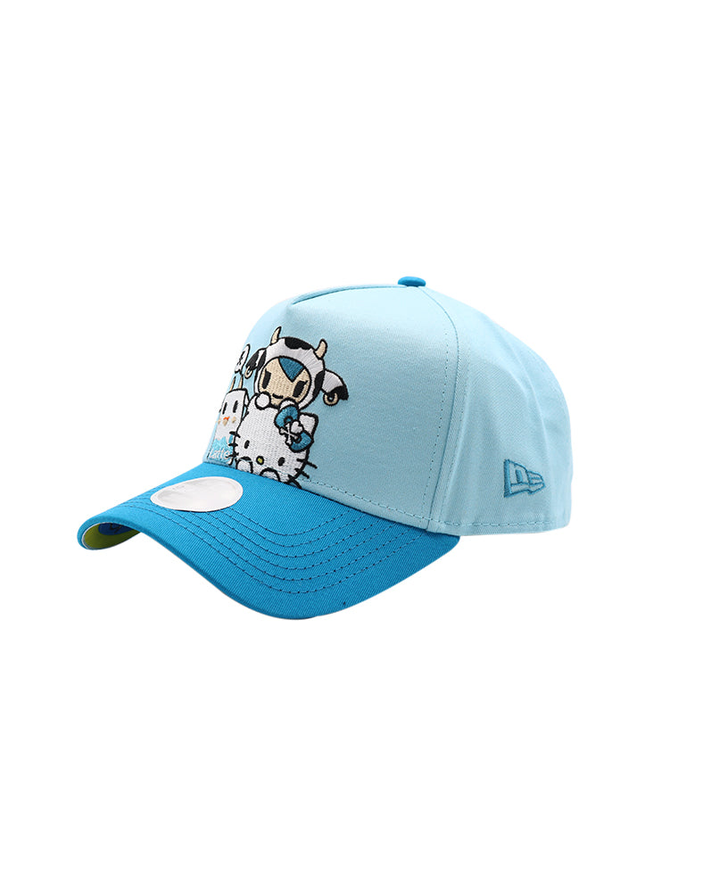 tokidoki x Hello Kitty Kitty Moofia Pile Women's Snapback Side