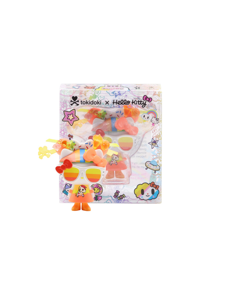 tokidoki x Hello Kitty 45th Anniversary Recolor 03 Packaging