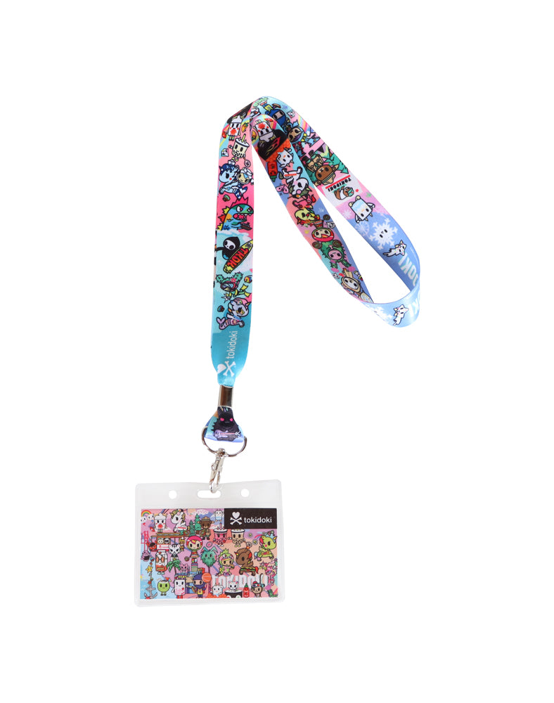 tokidoki-Con Cotton Candy Dreamin' Lanyard