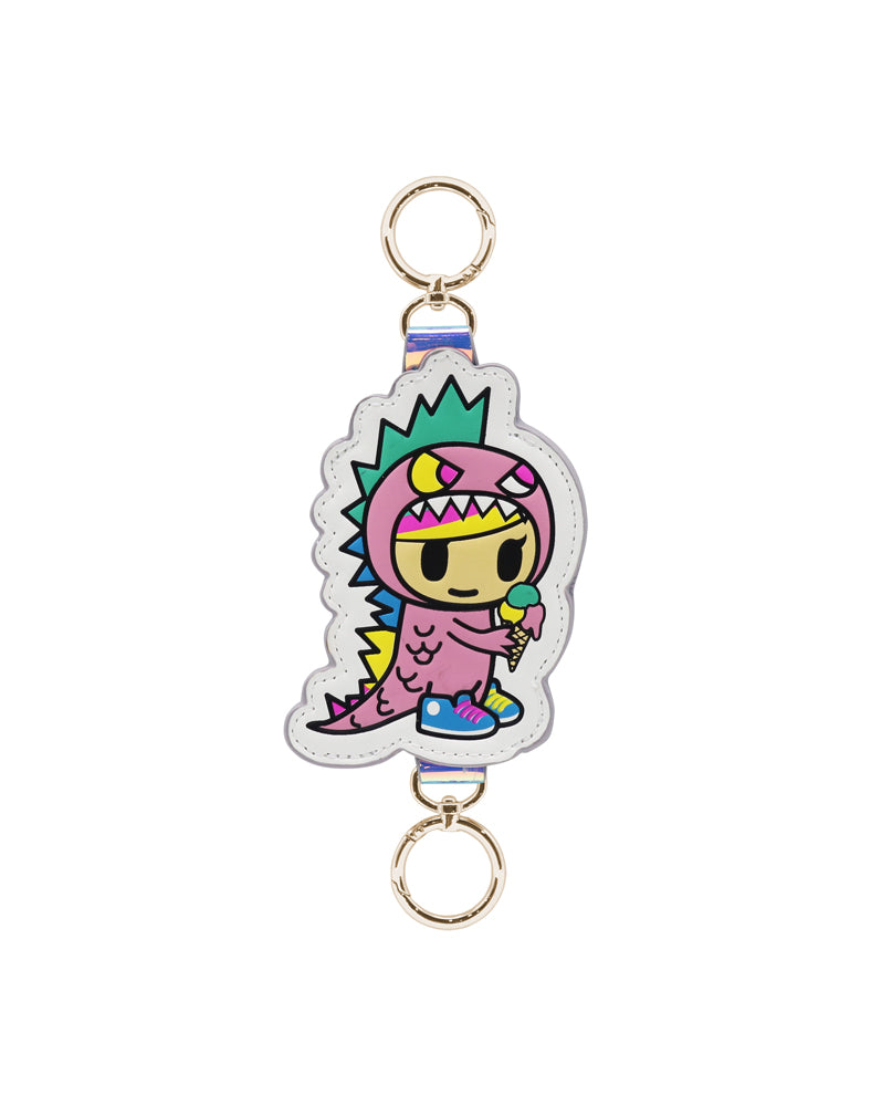 Pool Party Little Terror Keychain Front
