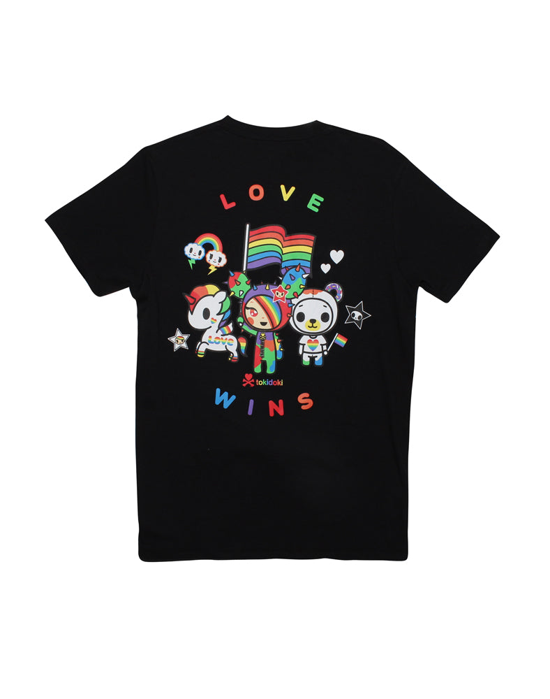 Love Wins Tee (Unisex) Back