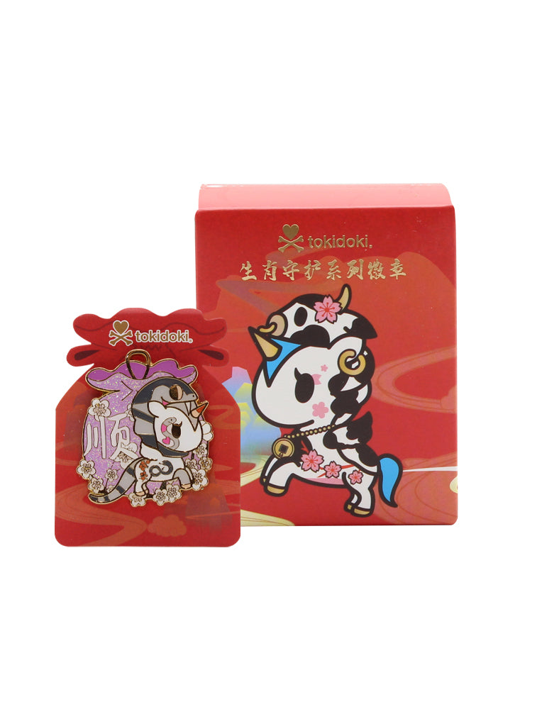 Lunar Calendar Unicorno Pin Badge Blind Box