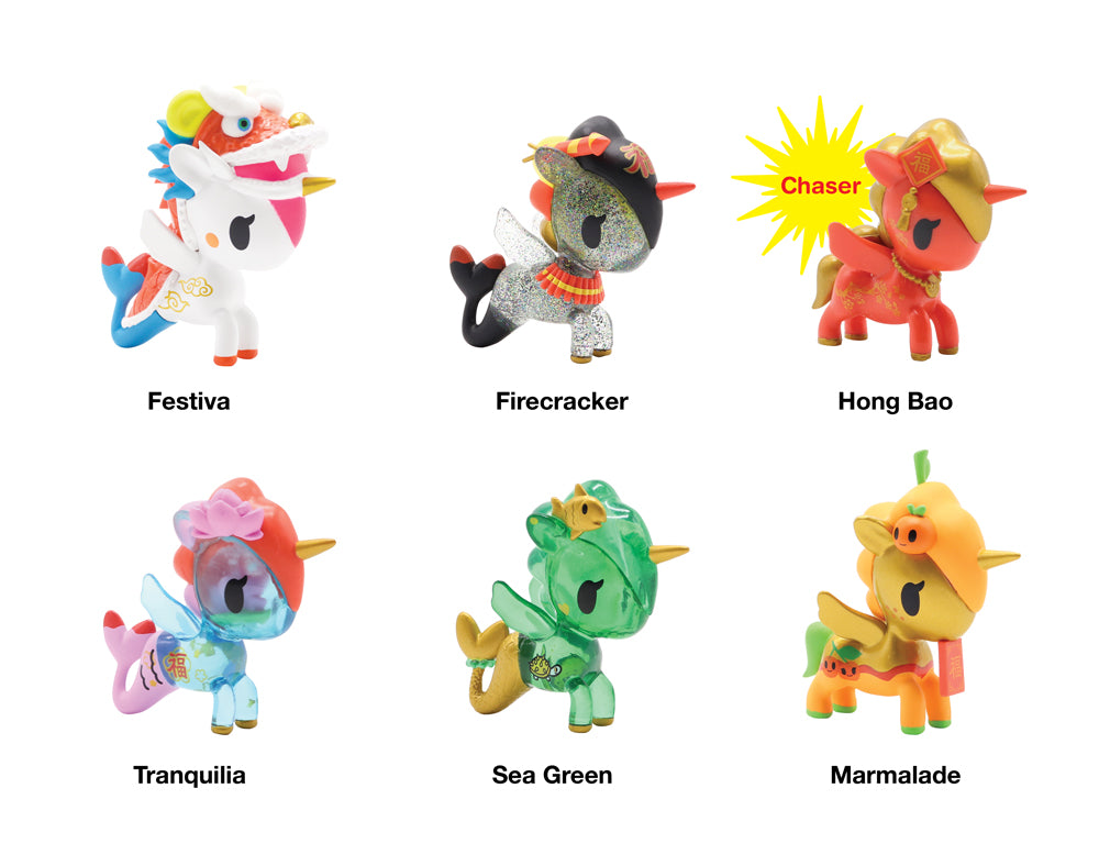 Lunar New Year Blind Box Series 1 Roster