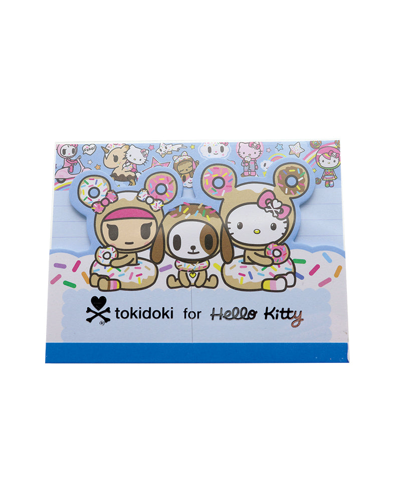tokidoki x Hello Kitty Sky Blue Memo Pad (Blue)