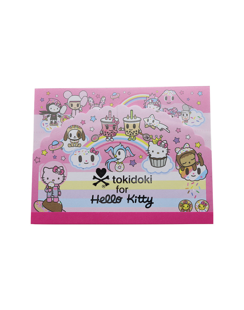 tokidoki x Hello Kitty Sky Blue Memo Pad (Pink)