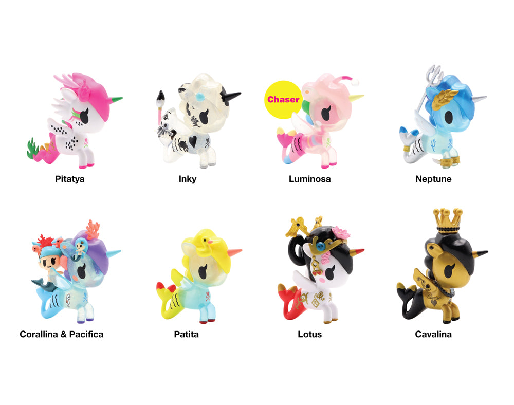 Mermicorno Blind Box Series 4 roster