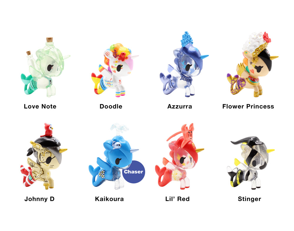 Mermicorno Blind Box Series 5 Roster