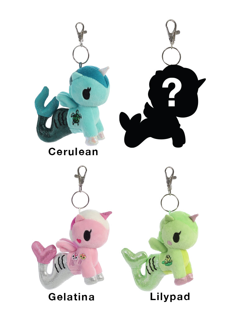 Mermicorno Plush Clip-On Blind Bag Series 2 Roster