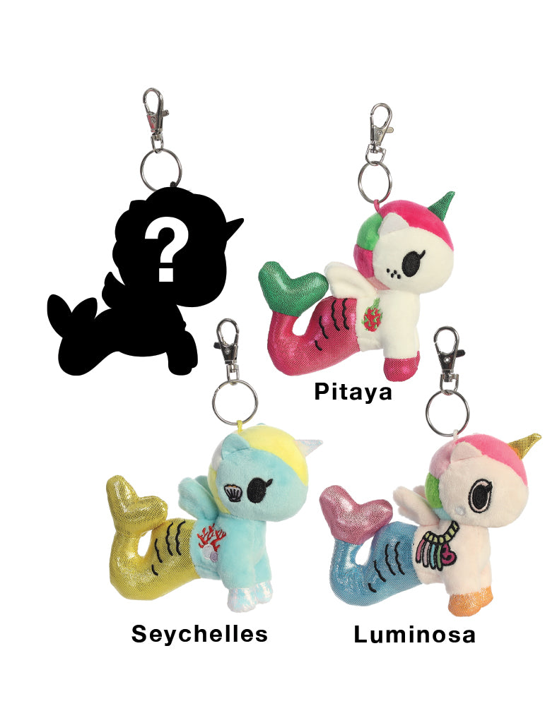 Mermicorno Plush Clip-On Blind Bag Series 4 Roster