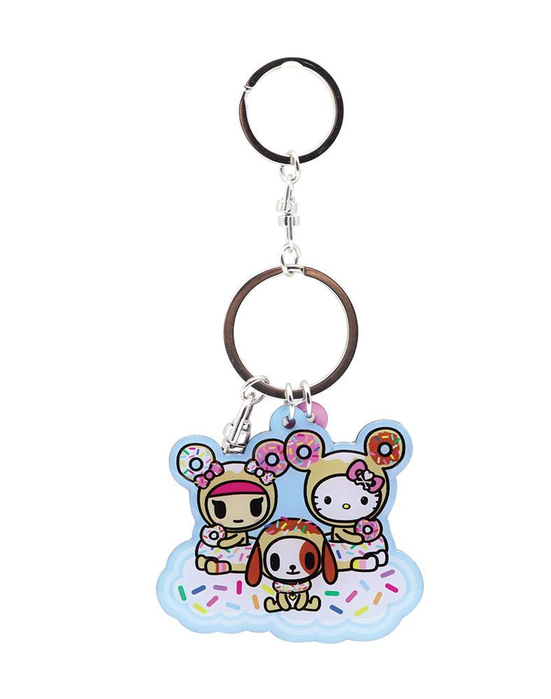 tokidoki x Hello Kitty Sky Blue Metal Keychain Alt View