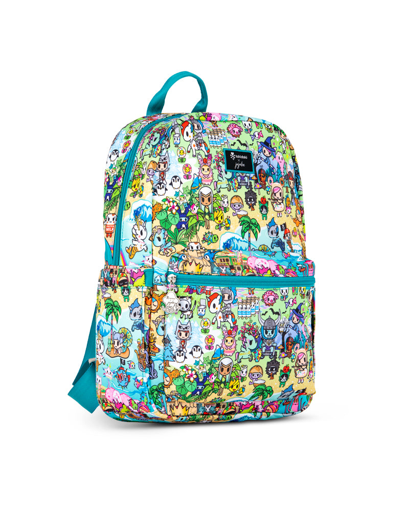 tokidoki x JuJuBe Midi Backpack Fantasy Paradise Side