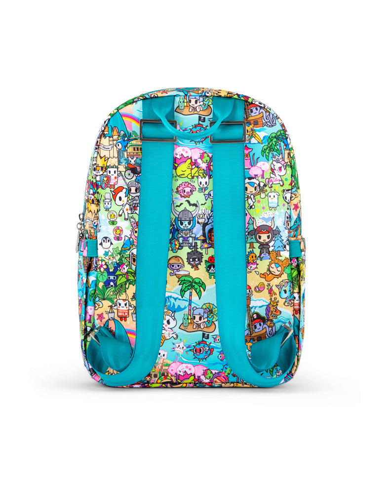 tokidoki x JuJuBe Midi Backpack Fantasy Paradise Back