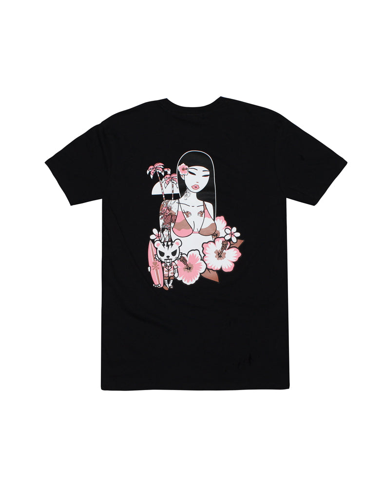 tokidoki-Con Midnight Surf Club Tee Back