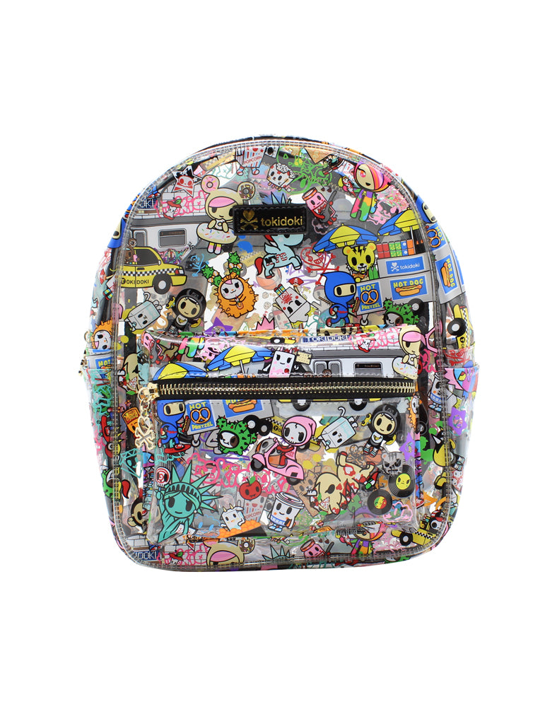 NYC Collection Clear Mini Backpack