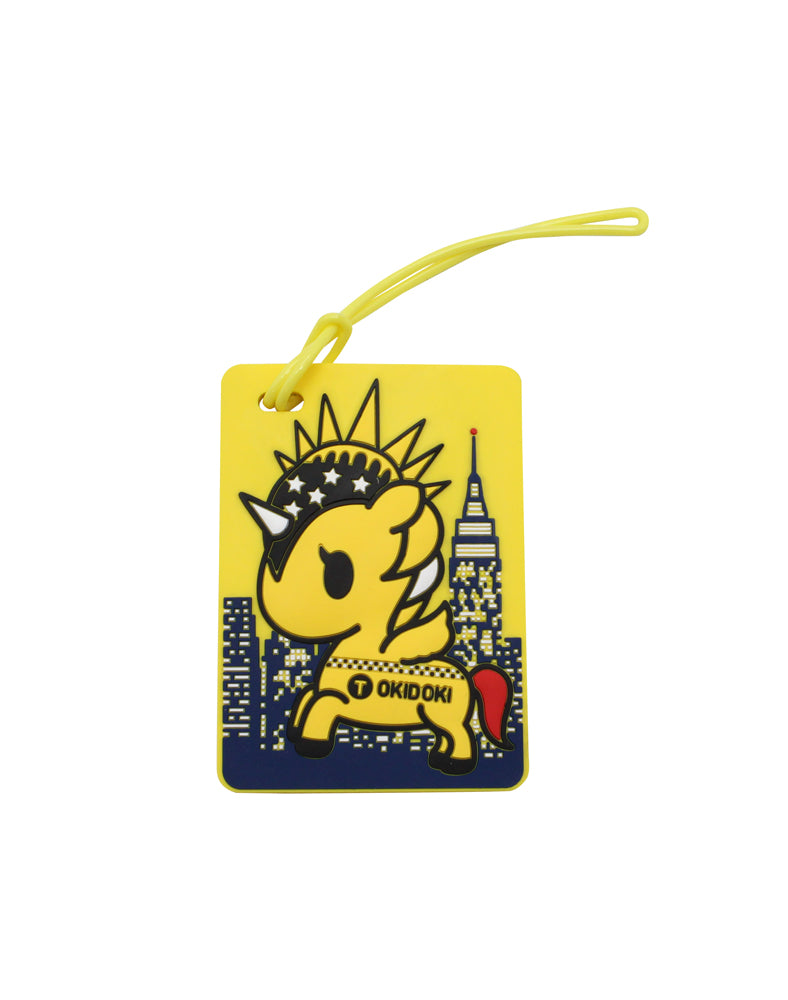 NYC Collection Luggage tag
