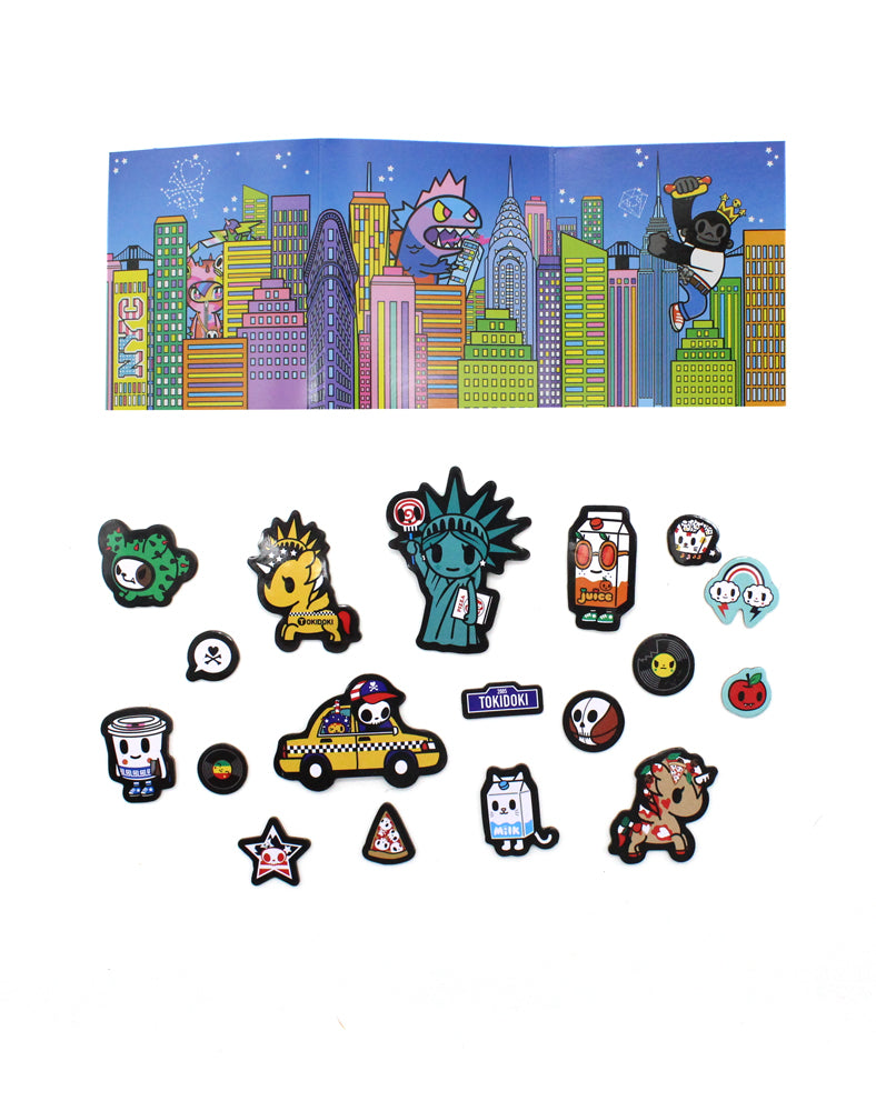 NYC Collection Magnet Activity Set