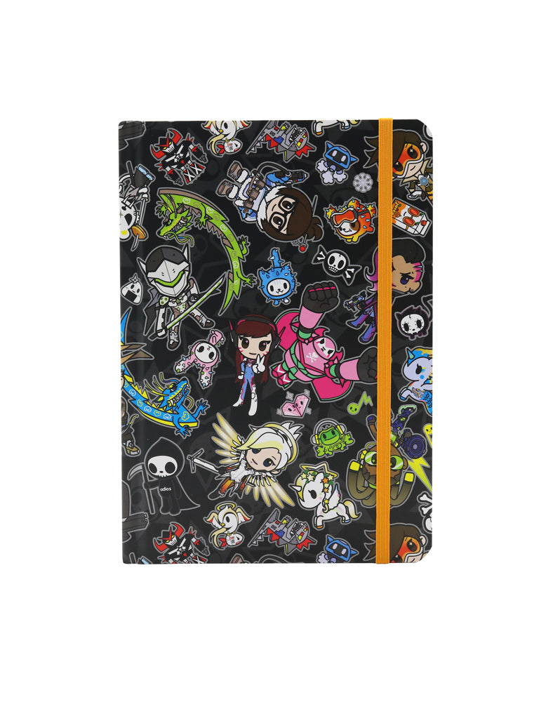 tokidoki x Overwatch Pattern Notebook front cover