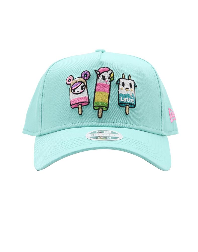 Pop Star Women's Snapback Front featuring some of your favorite tokidoki characters as popsicles!