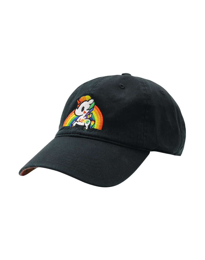 Pride Dad Hat Side View